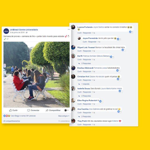 SomosUniBrasil_Post-e-Comentários